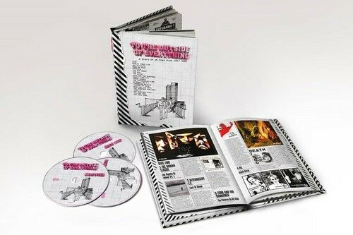 To The Outside Of Everything: Story Of Uk Post (2017, CD NEU)5 DISC SET