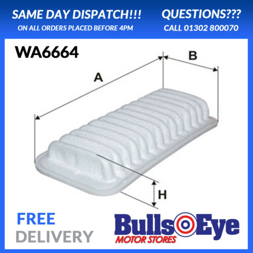 Concessionnaire genuine oe qualité neuf wix filtre à air toyota aygo /& yaris WA6664