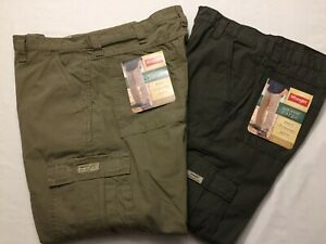 Wrangler Legacy Cargo Pants Relaxed Fit Tech Pocket  Men/'s