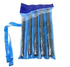 New 5pc Drill Set Morse Taper 2 Shank Twist 12 58 34 78 1super Sharp Hss