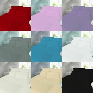 100-BRUSHED-COTTON-FLANNELETTE-EXTRA-DEEP-16-034-FITTED-SHEET-WARM-SOFT-BED-SHEETS