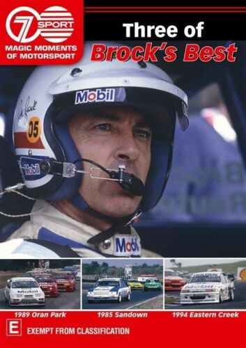 1 of 1 - Magic Moments Of Motorsport - Three Of Brock's Best (DVD, 2013)-free postage
