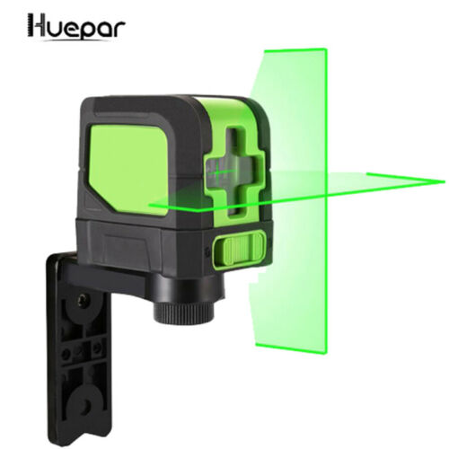 MINI 2 Lines Green Laser Level Self Leveling Cross Laser Line huepar