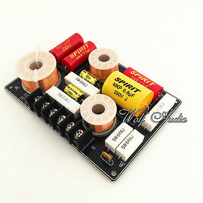 2 Way 2 Unit Audio Speaker Frequency Divider Aplifier Crossover Filters Board
