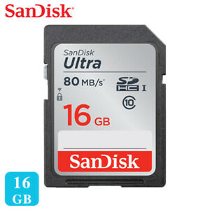 SanDisk-Ultra-16GB-32GB-UHS-I-Class-10-SDHC-80MB-s-SD-memory-card-Full-HD-Videos