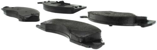 Disc Brake Pad Set-Premium Semi-Met Pads with Shim and Hardware Rear,Front