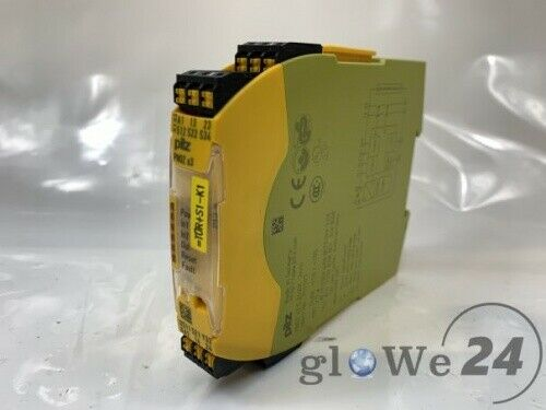 Pilz 751103 seguridad relés pnoz s3 C 24vdc 2n//o