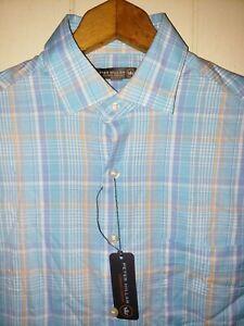 de7d0951a522 Peter Millar Crown Sport Summer Comfort Button Shirt Mens Small NWT ...