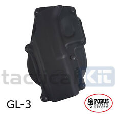 New Fobus Glock 20 21 Rotating Paddle Holster UK Seller GL-3 RT (Airsoft)