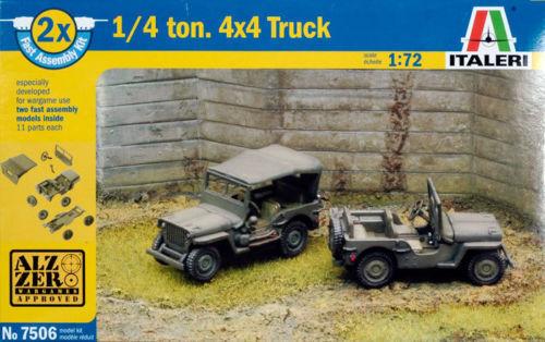 Italeri 1/72 World War Ii - Serie Carri Fast Assembly - Carri Soldati X Diorami