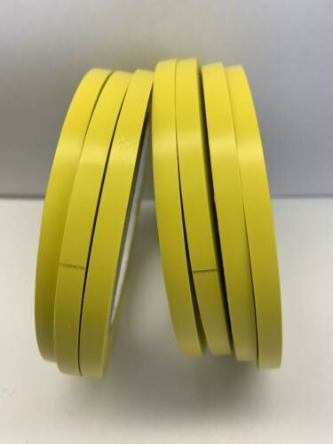 Vinyl Pinstriping Tape 12 OSHA COLORS AVAILABLE: 1//4 INCH 6mm x 108 Ft 5MIL