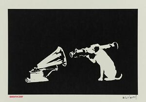 Banksy-HMV-Dog-50-x-65-cm-Arches-Paper-Printed-Signature