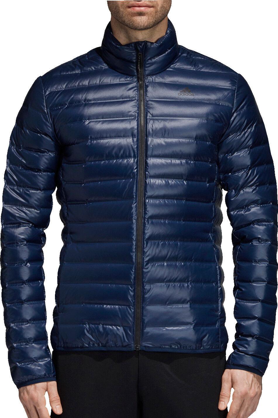 Adidas Varilite Mens Down Jacket - Blau