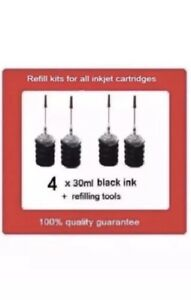 4x-Refill-kits-for-HP901XL-HP901-Black-ink-cartridges-for-HP-Officejet-4680-4580