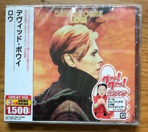 David-Bowie-LOW-JAPAN-Ltd-Ed-Low-TOSHIBA-EMI-Album-Cd-SEALED-Unplayed-OBI