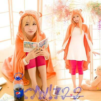 Anime Himouto! Umaru-chan Cosplay Cloak Hoodie Kigurumi Coat Daily Blanket Quilt