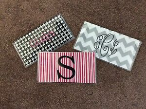 Personalized-Checkbook-cover-w-different-pattern-color-options-FREE-SHIPPING