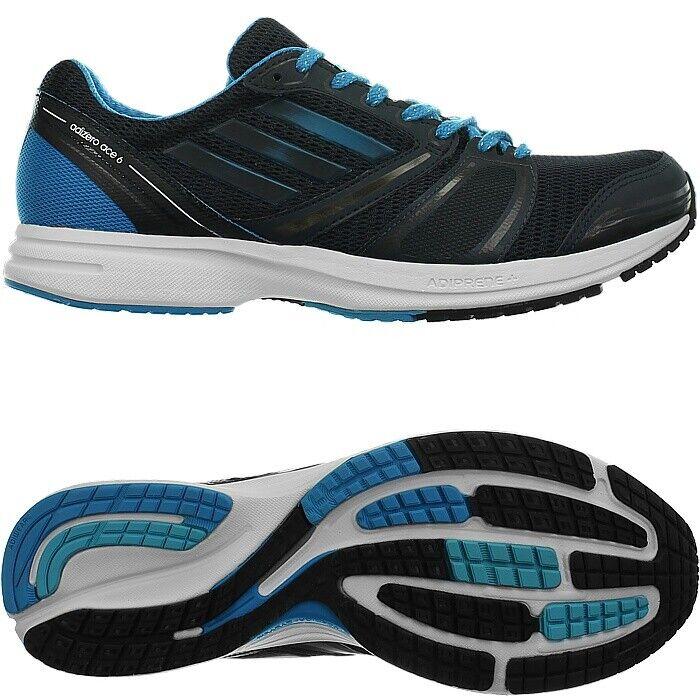 Adidas Adizero Ace 6 M schwarz blau Herren Laufschuh Runningschuh Joggingschuh