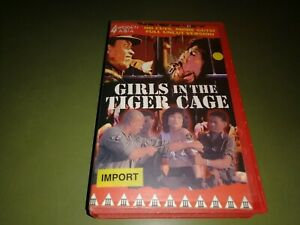 vhs - Girls in the Tiger Cage aka Girls Concentration Camp (Sang-ok Shin )