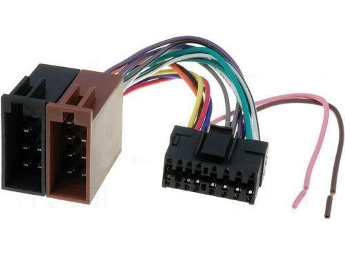 ISO Autoradio Adapter SONY MEX-BT2700 MEX-BT3700U MEX-BT4700U MEX-BT5700U //5//NEU
