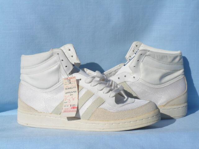 0372c12cb85278 Vintage 1985 Adidas Rebound Hi Jabbar OG DS Made in France L  K!