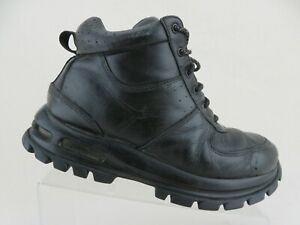 Details about NIKE Air Max Goaterra ACG Black Sz 8.5 Men High Top Ankle Boots