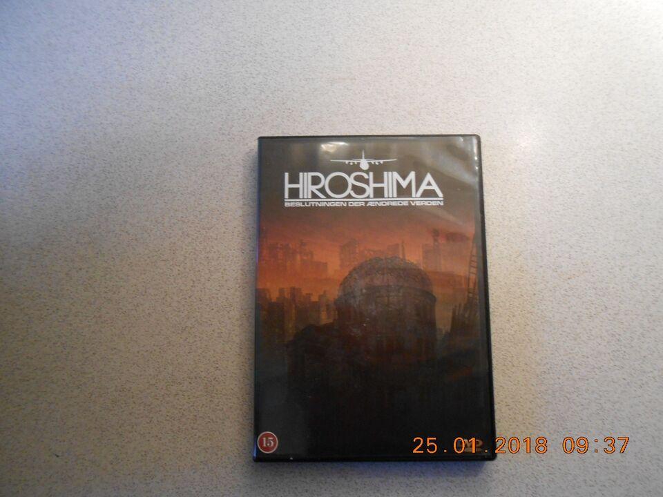Hiroshima, instruktør Rita Haywoort, DVD