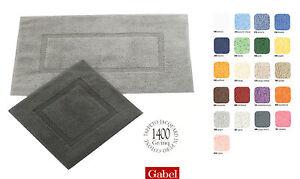 Tappeto bagno gabel mille cm 60x100 50x50 con antiscivolo permanente ebay - Gabel tappeti bagno ...