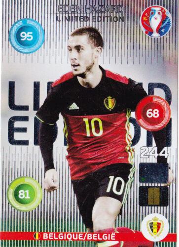 Panini adrenalyn xl uefa euro 2016-Limited Edition Eden Hazard