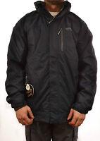 Regatta Corey 3 In 1 Mens Waterproof Jacket Raincoats Navy Grey Isotex Rmp002