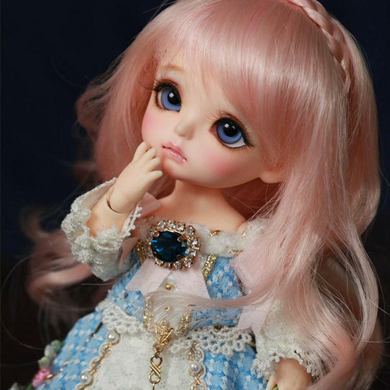 Hot Cute Happy Doll With Eyes For Baby Girls 1 8 BJD Bebe Toddler Beautiful Gift