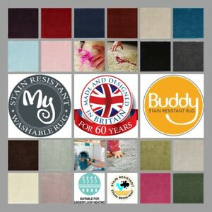 BUDDY MY RUG 19 Colours 7 Sizes Stain