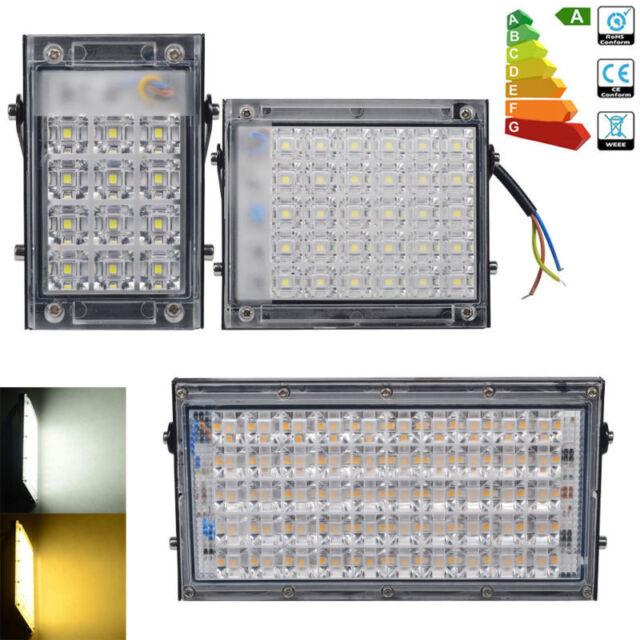 1er/5er 10W 30W 50W LED Fluter Scheinwerfer Außen Strahler Flutlicht Leucht IP65