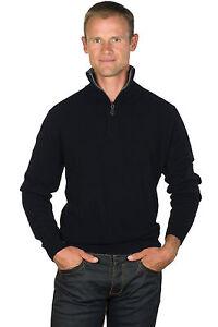 Ugholin Jersey y Camisa 2 en 1 Cuello en V para Hombre