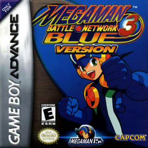 Mega Man Battle Network 3 Blue Version GBA Great Condition Fast Shipping