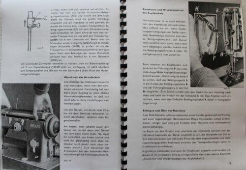Technisches Handbuch Technikeranleitung für PFAFF 230 /& 332 mit Automatic !