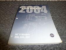2004  Evinrude  200 225 250 HP DI 90 V6 Motor Shop Service Repair Manual SR