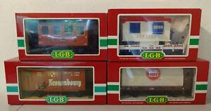 (mbg1 / Go) Lgb Personnes Bière Cirque Wagen Avec Emballage D'origine Apparence éLéGante