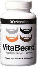 Men VitaBeard Facial Hair Thicker Beard Fast Growth Vitamins Feed Supplement