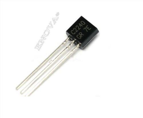 200 Stücke ZU-92 2SC2240 C2240 Toshiba Transistor New Ic vp