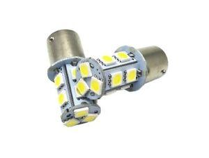 Ampoules-LED-R5W-R10W-13-leds-SMD-6000K-Blanc-Veilleuse-1156-Feux-12V