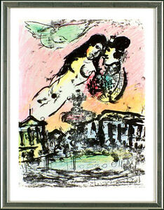 Marc-Chagall-1887-1985-Die-Verliebten-im-Himmel-Lovers-in-the-sky-1963