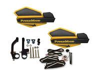 Powermadd Star Series Handguards Guards Led Kit Ski Doo Yellow Black Snowmobile