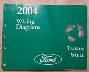 2004 Ford Taurus Mercury Sable Wiring Diagrams Electrical ...