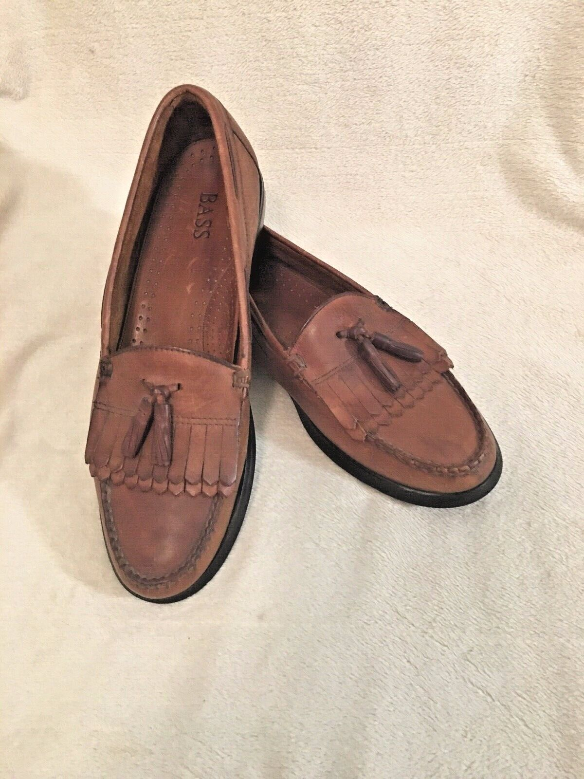 G.H Bass Casual Loafers color Brown Mens Size 12