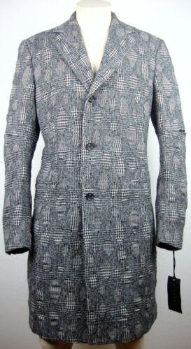 Herren Designer John Coat 46 Mit Gr Mantel Etikett Neu Richmond Woolmantel Luxus gSSIwxBq4