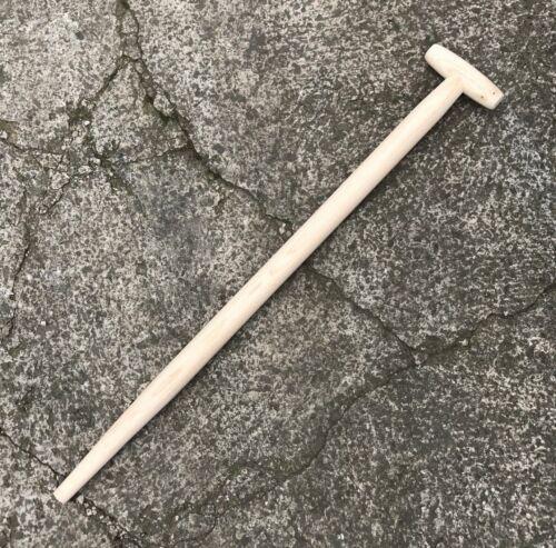 "Richard Carter 32/"" 810mm Taper Bent T Handle Replacement Spade Shovel Fork"