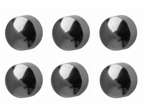 6//12 Par Studex Perforación del Oído Stud Pendientes tradicional bola de acero chapado en oro