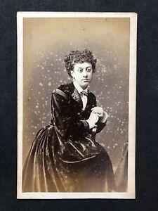Image Is Loading Victorian Carte De Visite CDV Lady Holroyd Harrogate