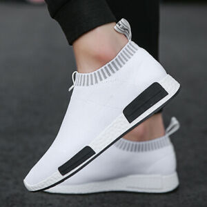Men's Casual Sneakers Athletic Running Walking Tennis Slip on Shoes Sports Gym